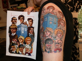 20 Doctor Who Tattoos To Celebrate The New Doctor, Peter Capaldi