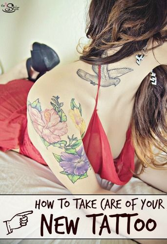 Tattoo care tips that will keep your little beauty looking fine original
