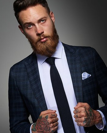 Suited & Booted: 10 Guys Who Show Tattoos and Suits Are A Must! | Tattoodo.com