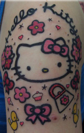 Hello Kitty Bow Tattoo | Hawaii Kawaii Blog