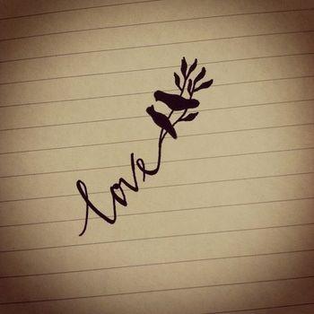 center of back of neck word tattoo | ... tattoos infinity symbol tattoos meaning infinity sister tatt