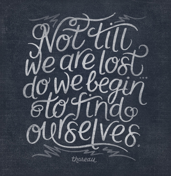 Not Till We Are Lost