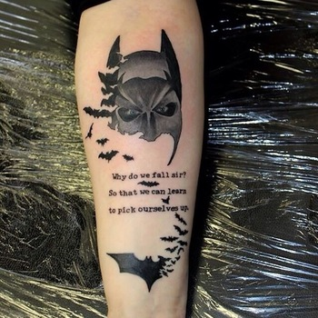 Top 10, um 11 Batman Tattoos Ever!