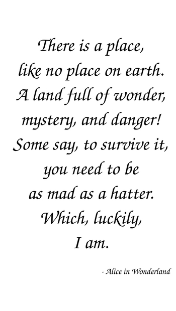Alice In Wonderland Quotes | Coutez, Larges Inpirational Quotes Collection