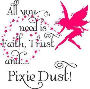 Pixie Dust  Wall Decal