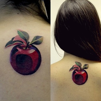 Watercolour-like Tattoos By Sasha Unisex