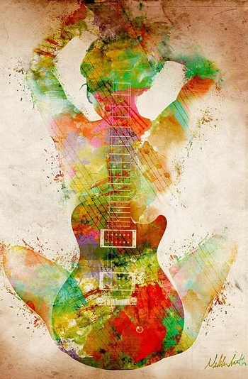 A great guitar is like a great girl. A beautiful sound, The right curves, and the ability to make you