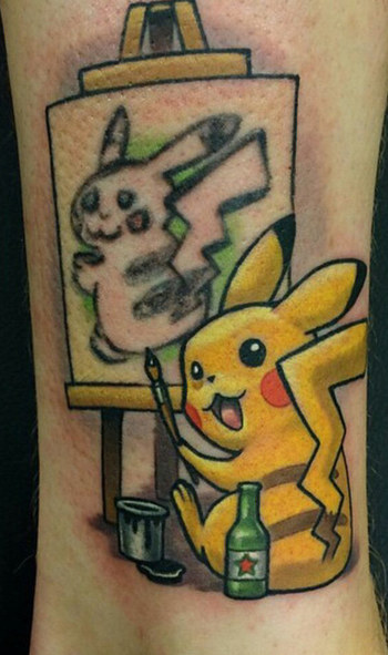 This Guy Found The Most Genius Way To Cover Up His Rubbish Pokémon Tattoo