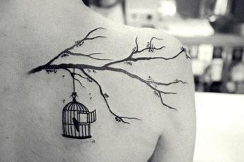 bird cages tattoos - Google Search