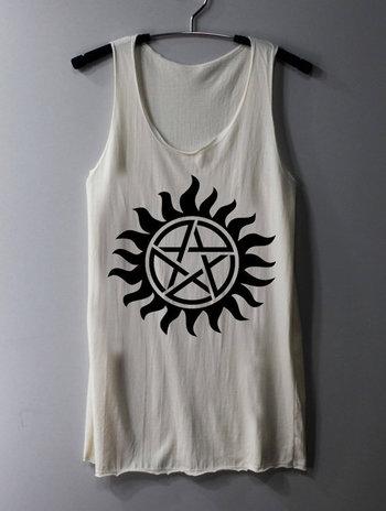 Supernatural Tattoo Shirt Series Movie Shirt by ThinkingGallery, $15.00