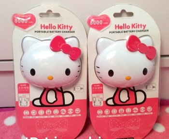 Hello Kitty Portable battery charger