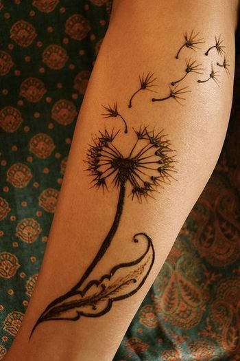 15 Dandelion Tattoo Designs to Be Adored - Pretty Designs