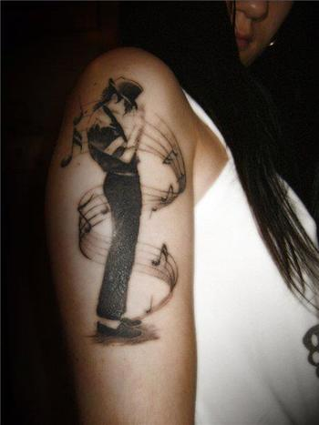 Michael Jackson tatoo