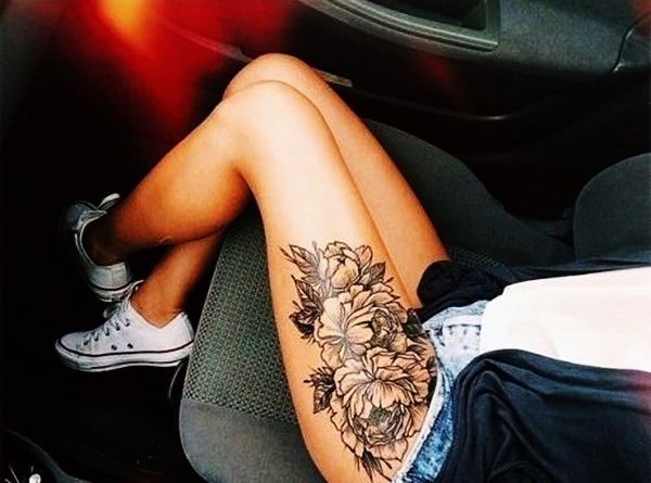 Best 70 sexy thigh tattoo designs and ideas for girls 2015 original