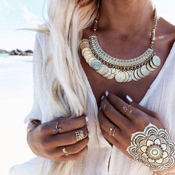 Goldbarr Maya Collar - India Gold