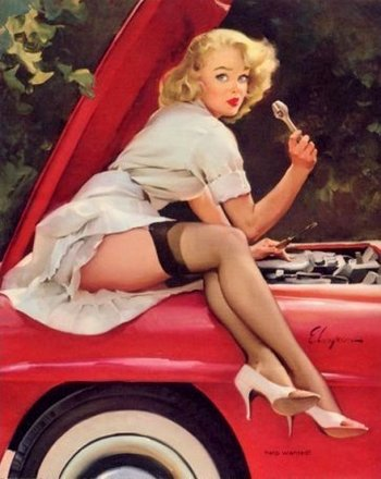 Bre_Inthe50s!: The classic pin up girl