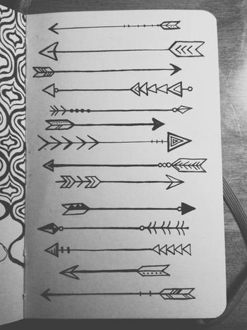 Koi Pond (lauren-salgado:   Arrows on arrows on arrows....)