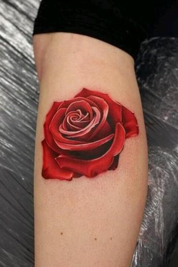 3-D Rose Tattoo. Beautiful artwork., GUIOX,TATTOO KITS