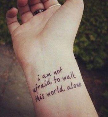 40 phrases à se faire tatouer