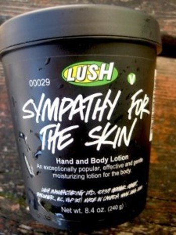 this shit is the absolute bomb. the awesome saleslady at Lush on State St grabbed my arm and rubbed i