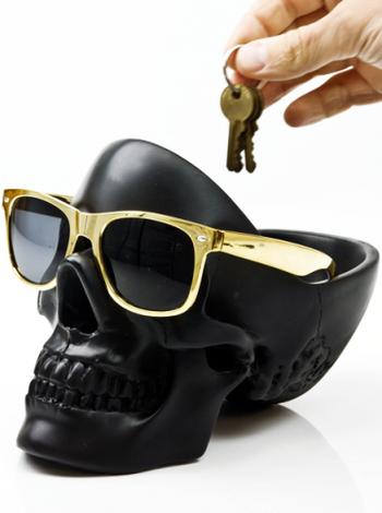 """Tidy Skull"" Organizer (Black)"