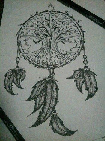 dreamcatcher x tree of life
