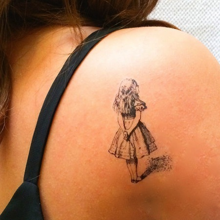 18 ephemeral tattoos for booklovers original