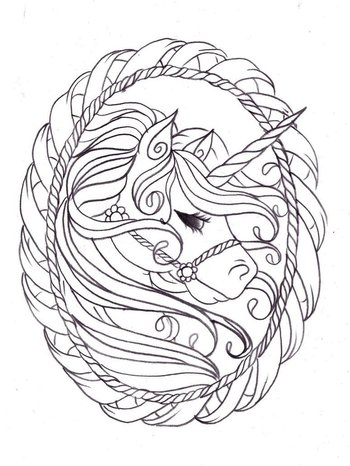 Image detail for -Unicorn coloring pages for kids - Coloring Pages & Pictures - IMAGIXS