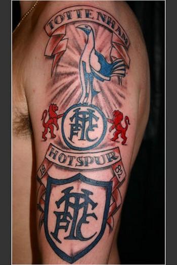 tottenham tattoo - Google Search