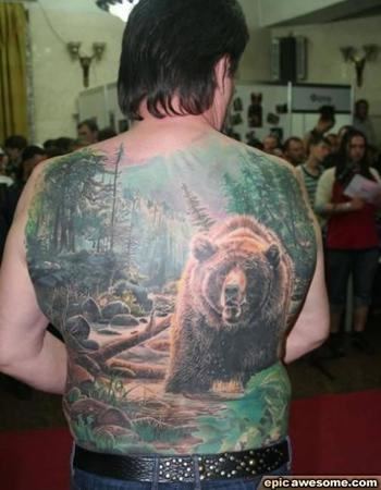 Someone loves Grizzly Bears...a lot! | EpicAwesome.com