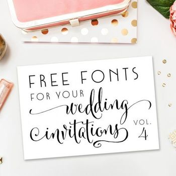 A new collection of completely free fonts
