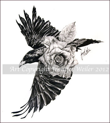 Raven Wristlet by lions-nd-yellocake.deviantart.com