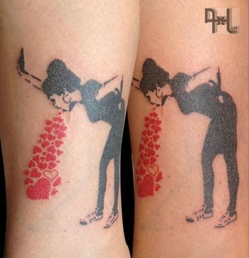 25 Banksy Inspired Tattoos | Tattoodo.com