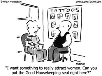 Tattoo Cartoon #3703 ANDERTOONS TATTOO CARTOONS