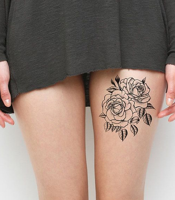 Twin Rose Tattoos for Women | Styles Time