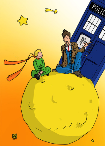 Petit Prince meets the Doctor