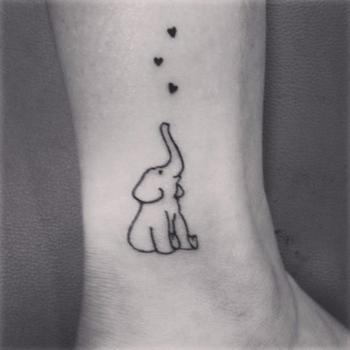50 Creative Elephant Tattoo Designs For Men And Women
