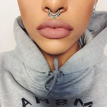 Top 10 Facts About The New Trend – Septum Piercing – Top Inspired