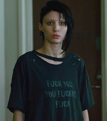 I loved the English version of The Girl with the Dragon Tattoo just as much as the Swedish version..