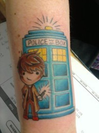 10th Doctor Tattoo by Ventia on deviantART
