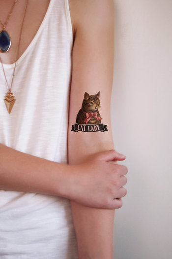 Hey, I found this really awesome Etsy listing at https://www.etsy.com/listing/185007473/the-cat-lady-