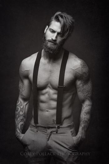 Travis DesLaurier - and suspenders. lol