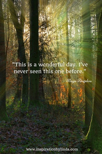 Awesome Maya Angelou Quote - Inspiration by Linda