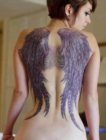 I've always wanted angel wings on my