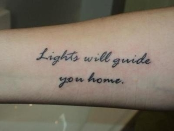 """""""Lights will guide you home"""" // Coldplay, Fix You"""