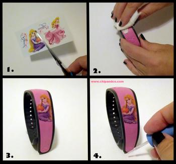 DIY Customization for Disney Magic Bands.