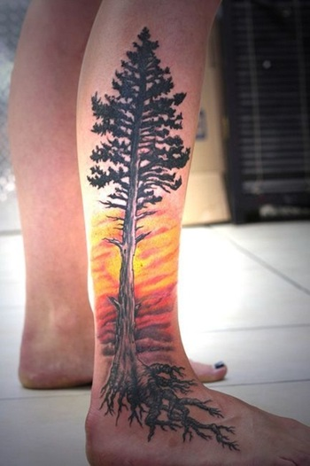 40 Lovely Nature Tattoo Designs