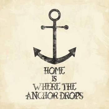 Where The Anchor Drops Art Print by Zach Terrell | Society6