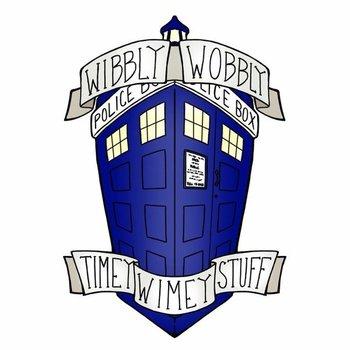 Doctor Who - TARDIS Tattoo Design by burning-shark