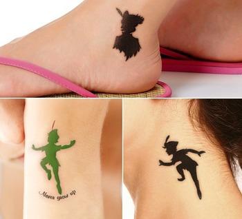 5 Enchanting Peter Pan Tattoo Design Ideas
